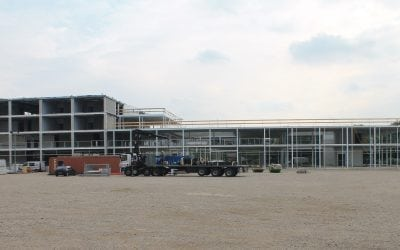 Update Nieuwbouw Technova College Augustus
