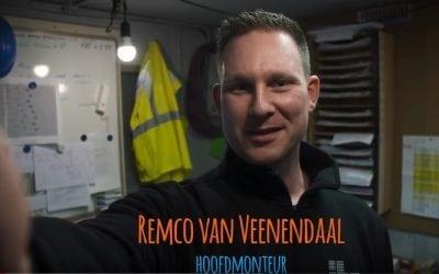 Een dag uit het leven van…onze hoofdmonteur Remco