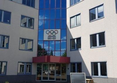 Renovatiewerkzaamheden hoofdkantoor NOC*NSF Papendal
