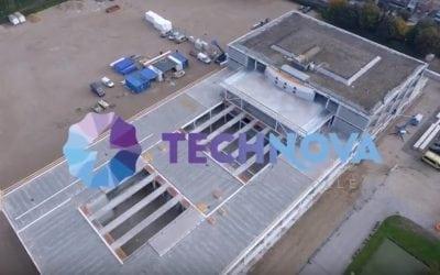 Stekerbaar installeren bij nieuwbouw Technova College