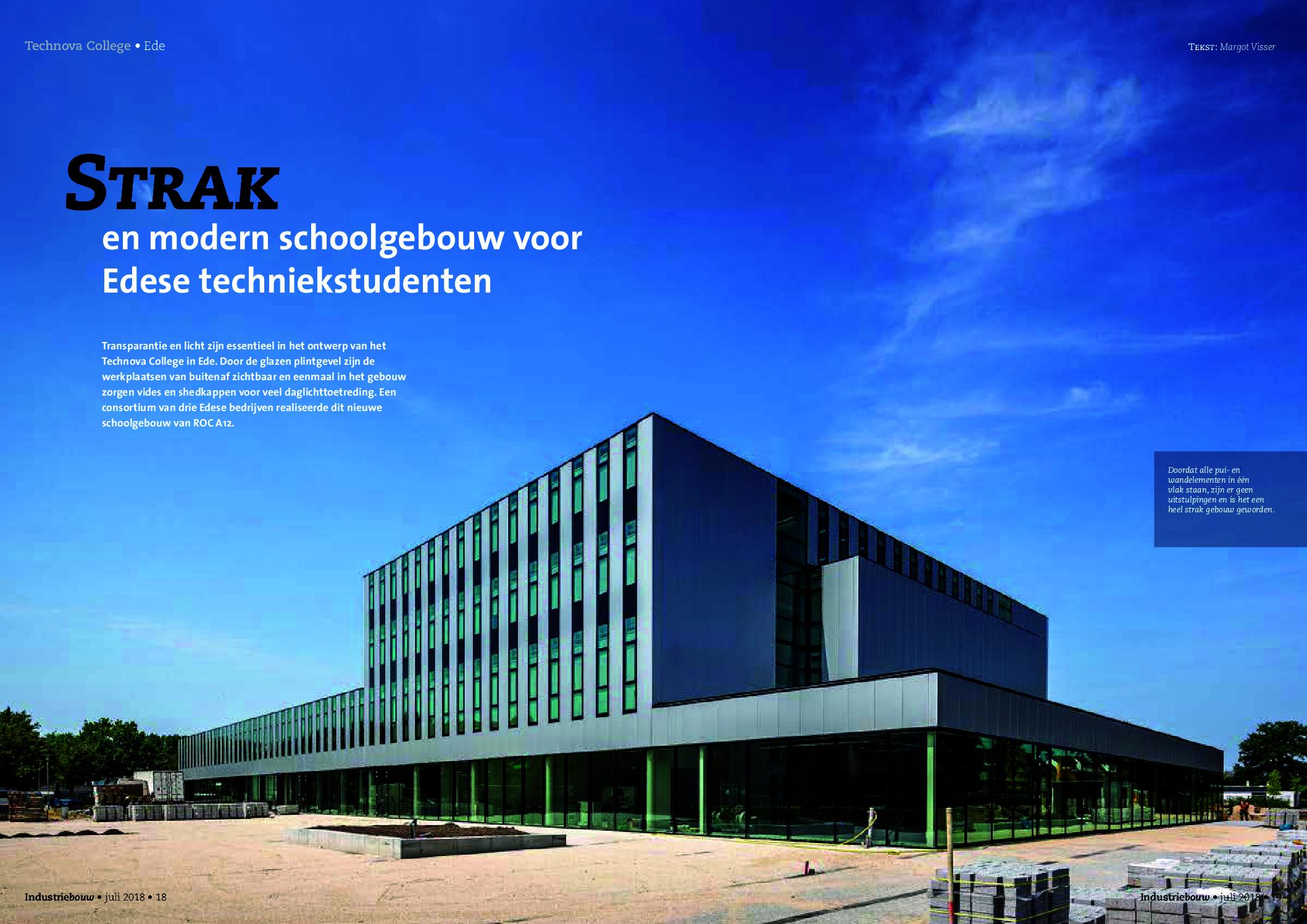 Leuk artikel over het project Technova college. Ook benieuwd?