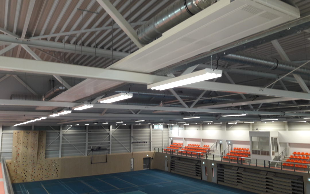 Projectvideo Topsporthal Ede!