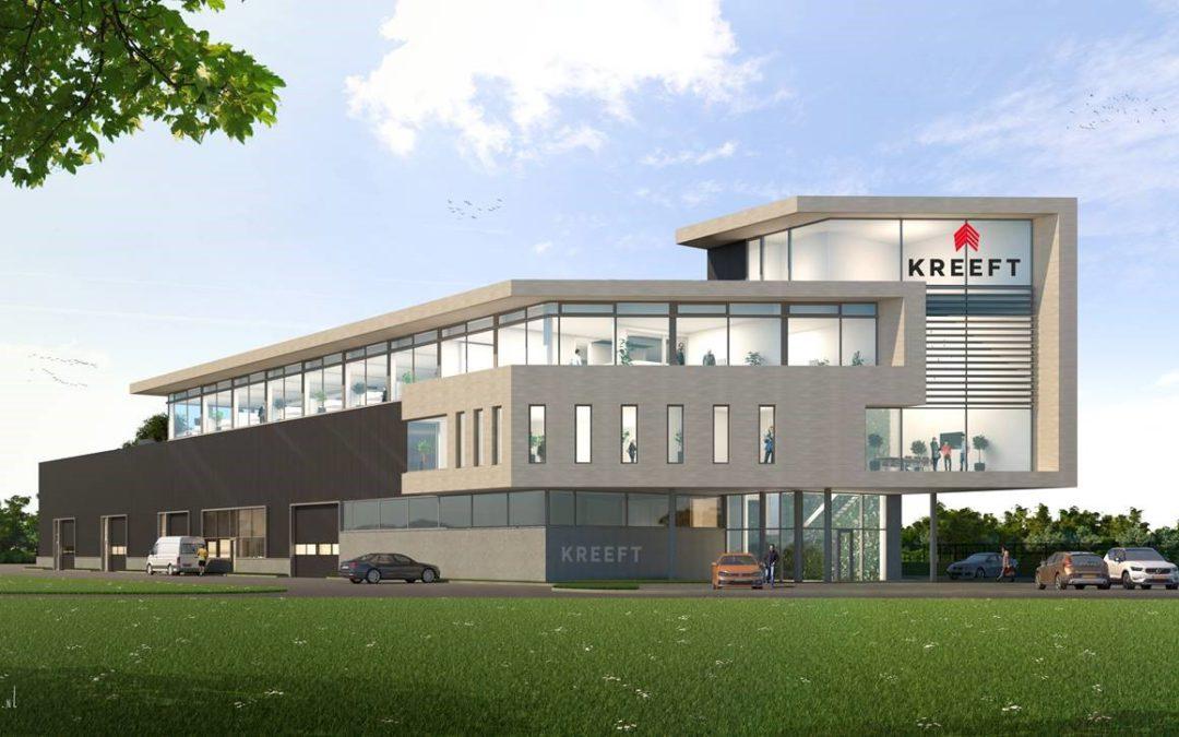 Nieuwbouw kantoorgebouw Kreeft