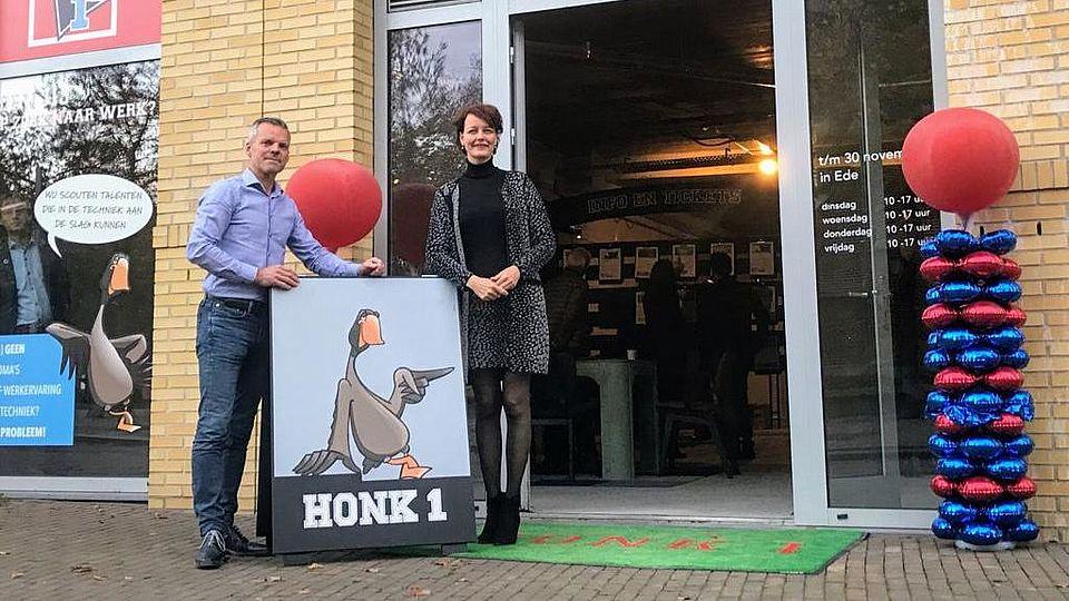Opening Honk1 in Ede